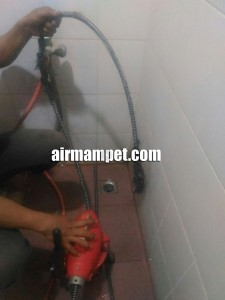 biaya saluran mampet
